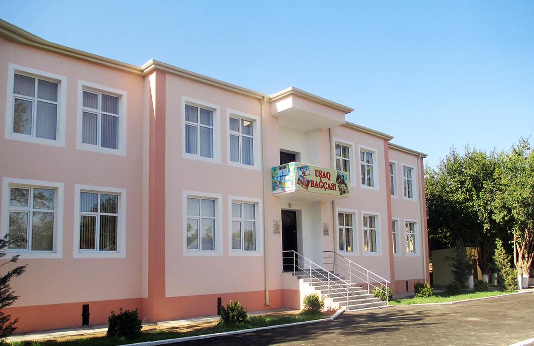 """Perlit"" LLC has implemented the construction of a kindergarten in the village of Balabahmanli Fuzuli region"