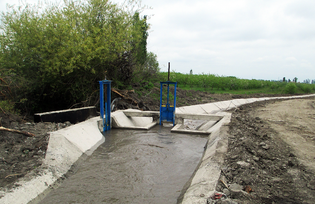 """Perlit"" LLC Contractor organization has implemented construction works on irrigation networks in the Northern Region, Guba Region GULUSTAN SPU"