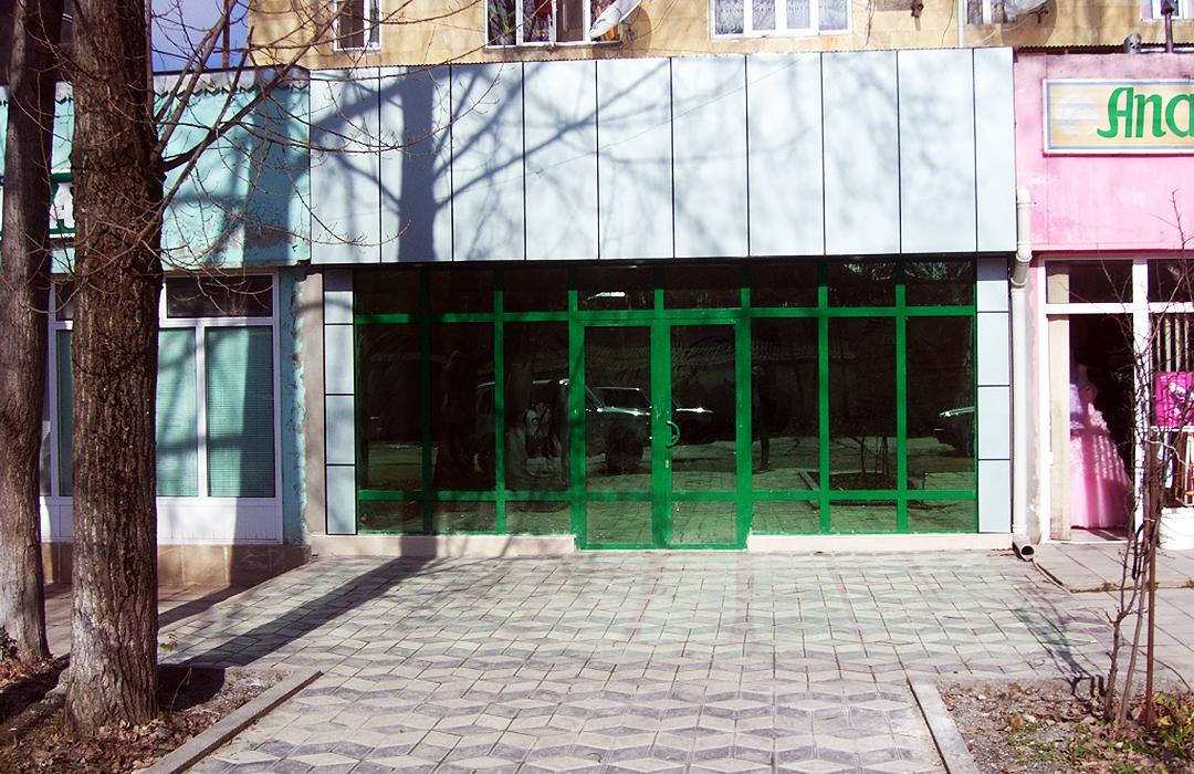 """""""CredAqro"""" QBKT-nın İsmayıllı rayon filialı ofisində təmir-tikinti işləri aparılıb"""