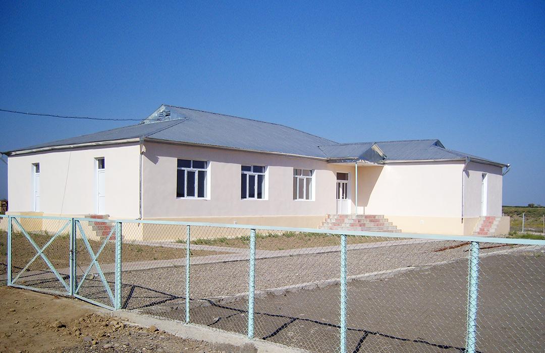 """Perlit"" Co. undertook the construction of a kindergarten in the village of Takhtakorpu in Agjabedi region"