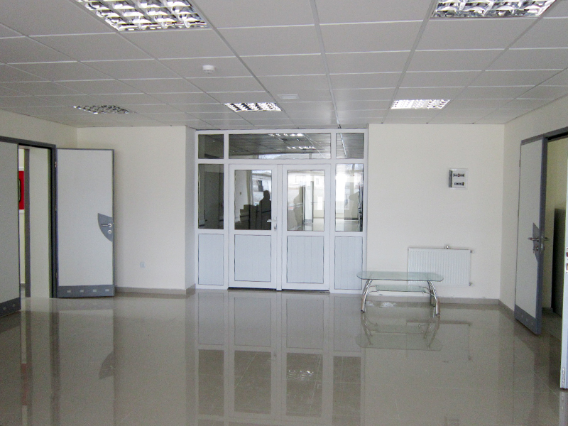 Şəki rayonu Aşağı Göynük kənd xəstəxana binasının tikintisi