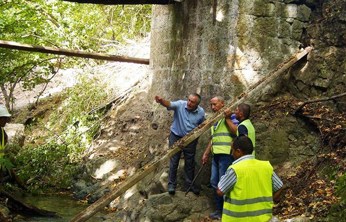 Daşkəsən rayonu Çovdar qızıl mədəninin inşası üzrə tikinti işləri həyata keçirilmişdir