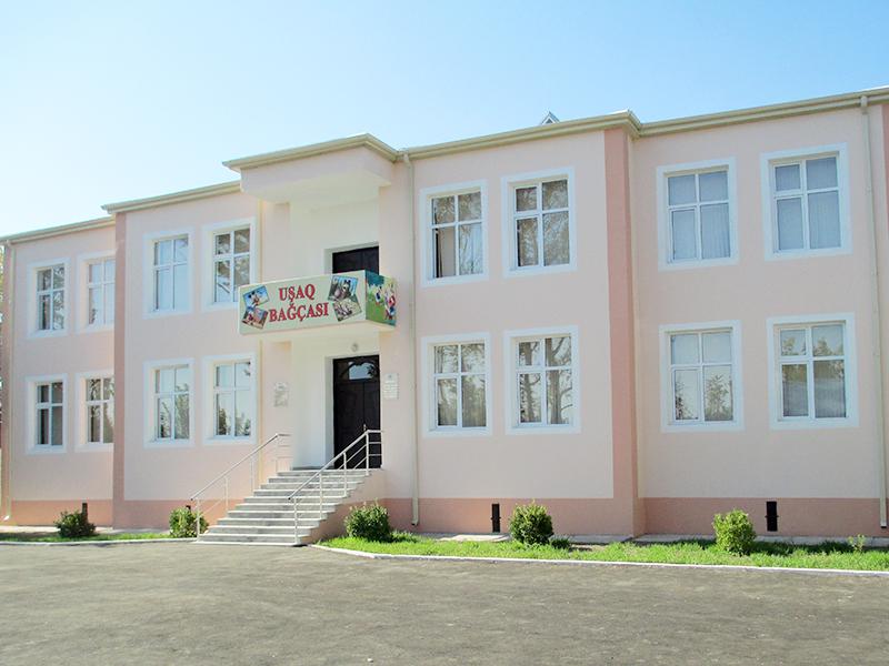 """""""Perlit"""" MMC Füzuli rayonu Balabəhmənli kəndində uşaq bağçasının tikintisi"""