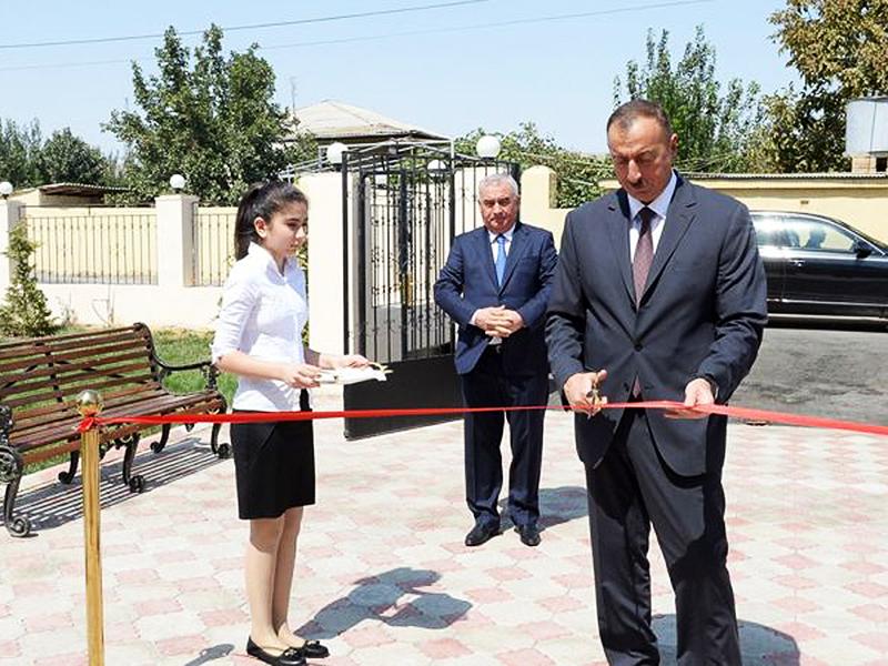 В городе Горадиз Физулинского района был построен детский сад-ясли № 2