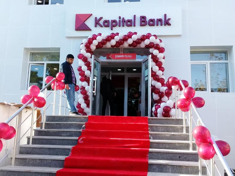 """""""Kapital Bank"""" ASC-nin, Şəmkir rayon filialı"""