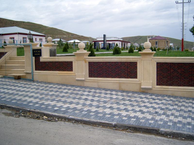 Xocalı Rayon İcra Hakimiyyətinin sifarişi əsasında Aşağı Ağcakənd ərazisində abadlıq işləri